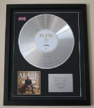 ALFIE BOE - Alfie CD / LP PLATINUM PRESENTATION DISC